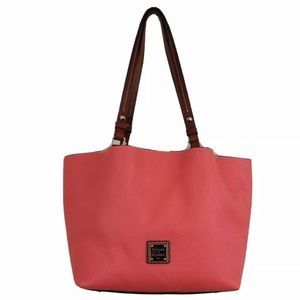 Dooney Bourke Pebble Grain Leather Flynn Tote Bag
